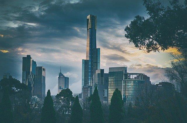 Melbourne sky scrapers